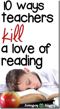 kill a love of reading