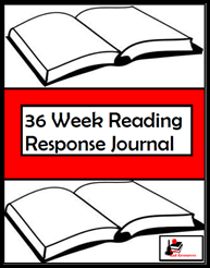 Back to School Tip - Take time now to print and bind together what your students will need for the entire school year, like this weekly reading response journal. This helps your save time, sanity and quality teaching practices later. Suggestions from Raki's Rad Resources