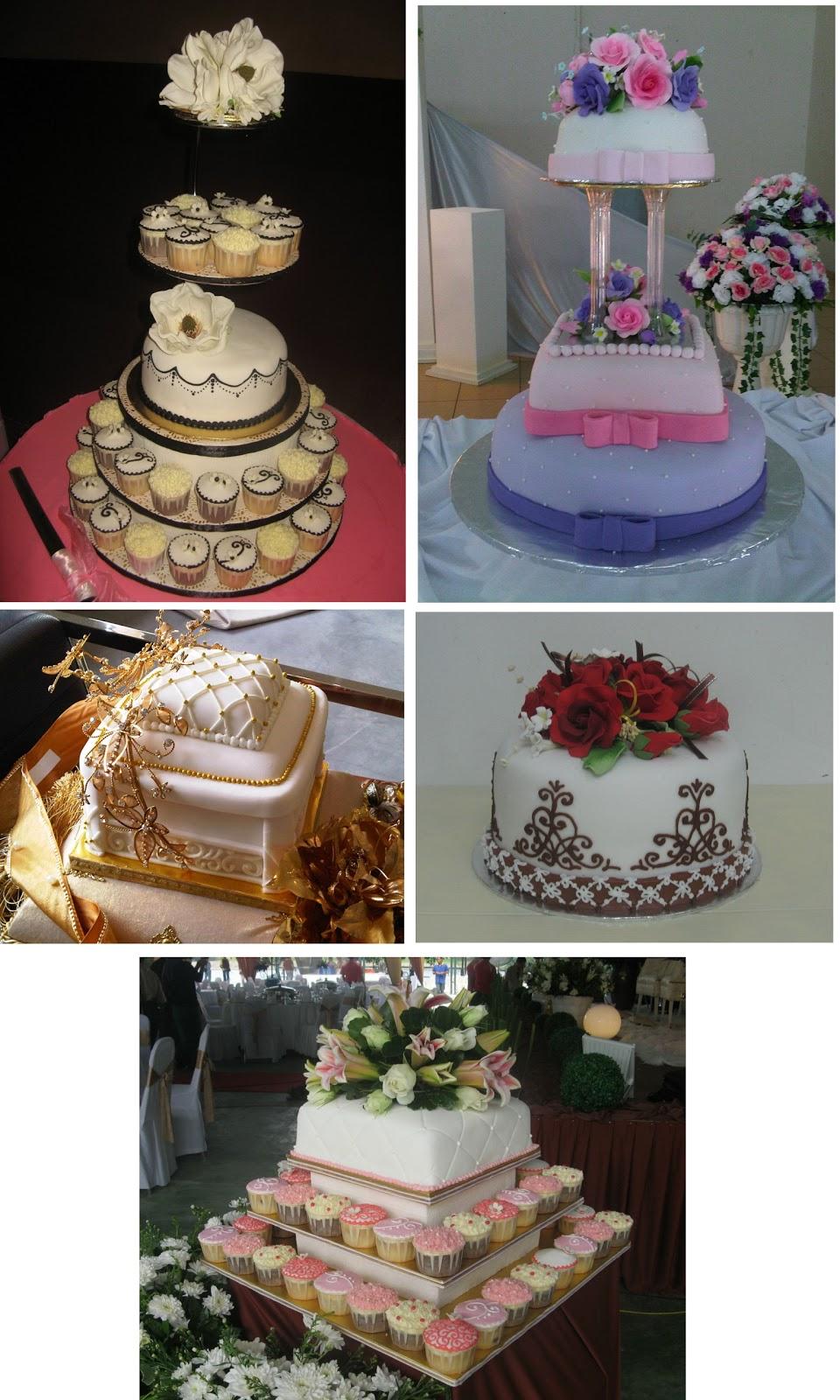 Wedding & hantaran cakes