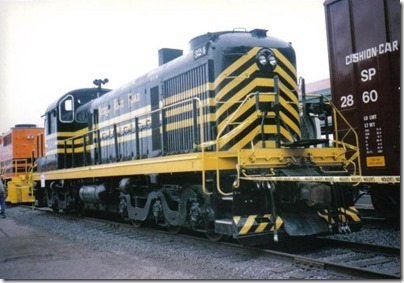Nickel Plate Road RSD5 #324 at Union Station in Portland, Oregon on May 11, 1996