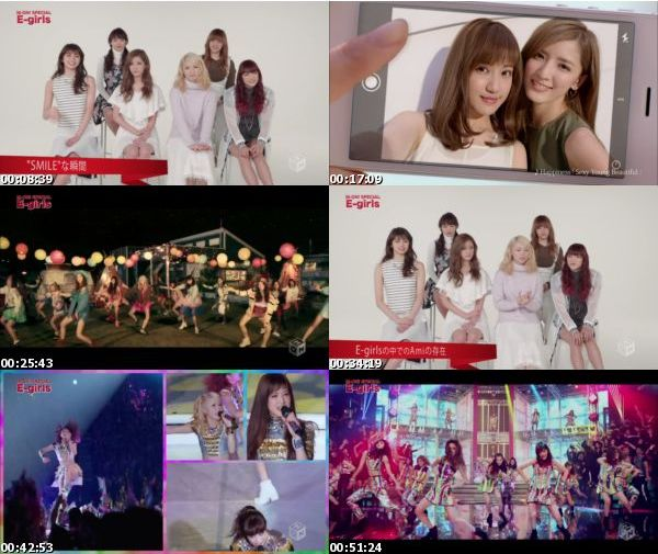 [TV-Variety] E-girls – M-ON! SPECIAL 「E-girls」 (M-ON! 2016.02.11)