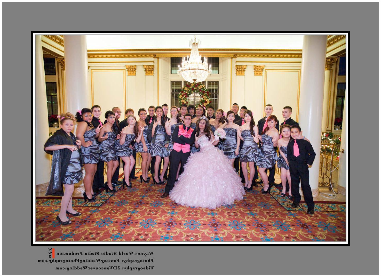 extravagant wedding event