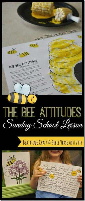 The Beatitudes Sunday School Lessons Craft and Games