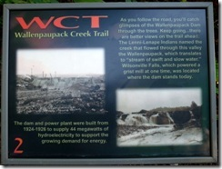 WCT Info sign 2
