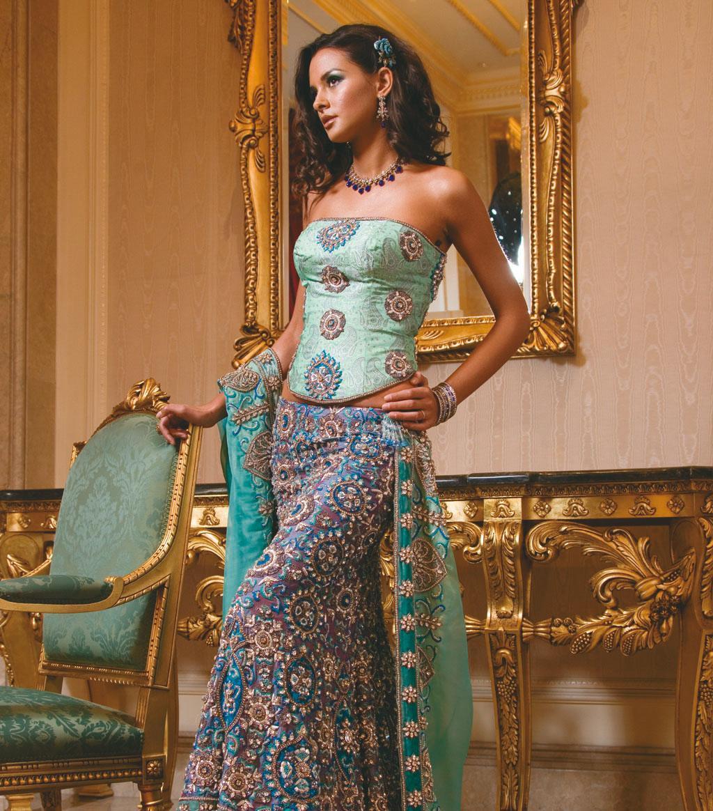 Aqua Green Bridal