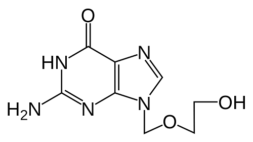 Structure Of Acyclovir
