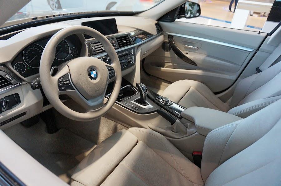 Салон BMW 328i Gran Turismo