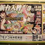 koda kumi II in Yokohama, Tokyo, Japan