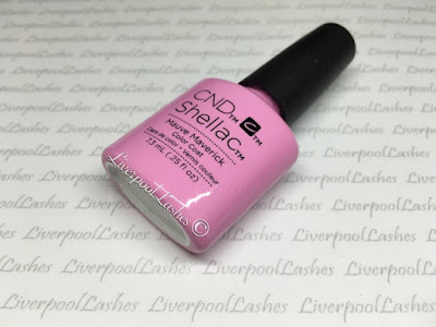 liverpoollashes liverpool lashes cnd shellac mauve maverick