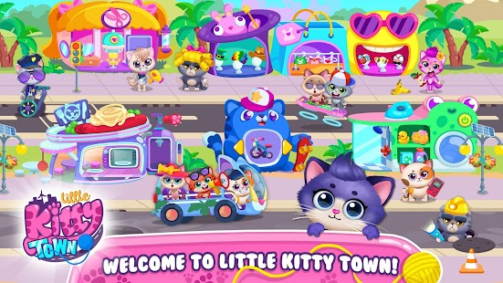 Little Kitty Town - Collect Cats & Create Stories for pc