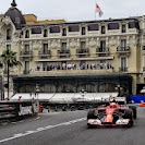 Kimi Raikkonen at casino square