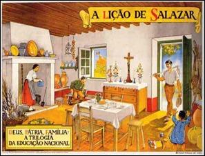A Lição de Salazar Uma casa portuguesa Deus Pátria Família