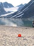 Magdalenenfjord das wohl nördlichste Scheibenfoto