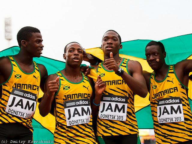 Юношеский чемпионат мира по легкой атлетике Донецк июль 2013 Ямайка