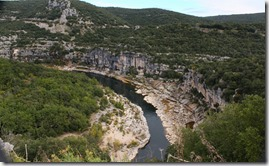 Premier arrêt sur le premier belvédère (Ranc Pointu).