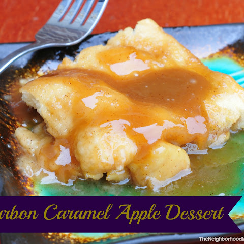 Bourbon Caramel Apple Dessert