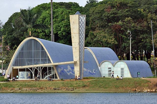 Igreja de São Francisco de Assis - Oscar Niemeyer, Belo Horizonte