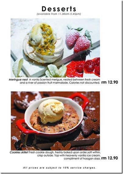 Eat at 18 at Melaka - Dessert Menu 02