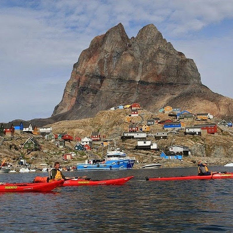 The Beautiful Uummannaq Island, Greenland
