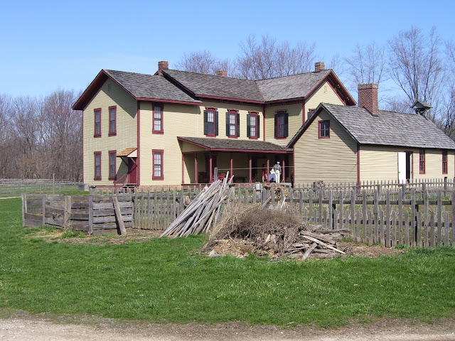 The Zimmerman House at Conner Prairie