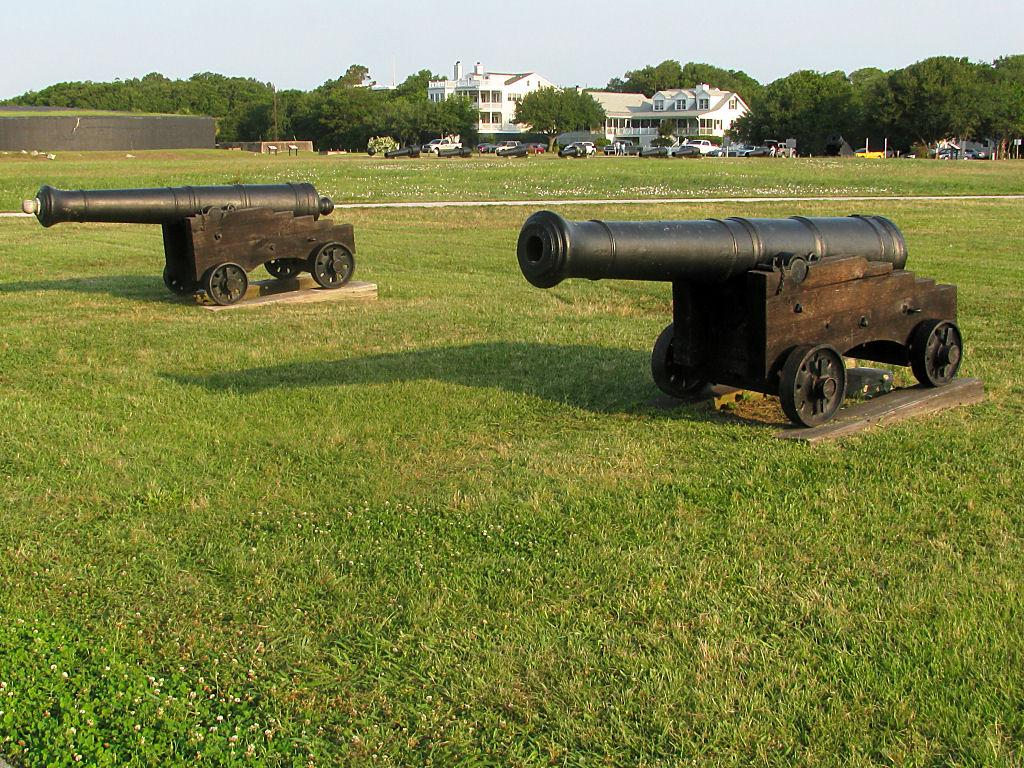 Just outside Fort Moultrie