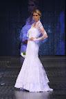 Para fnalizar la colección vestido de novia en tul bordado artesanalmente en blanco absoluto. Gentileza: Express News