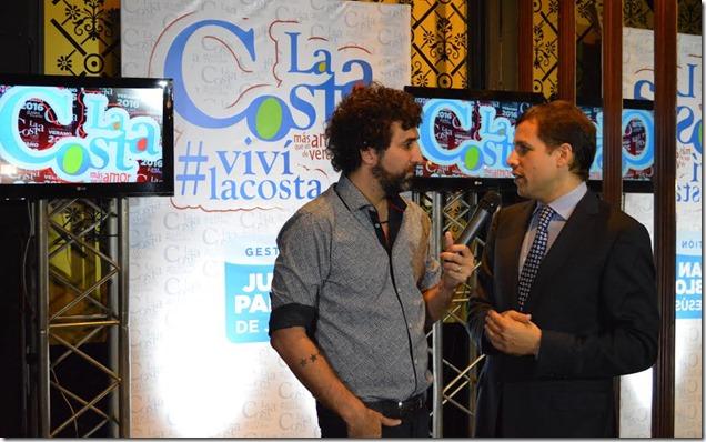 El intendente Juan Pablo de Jesús dio detalles de los espectáculos que tendrá la temporada de verano 2016