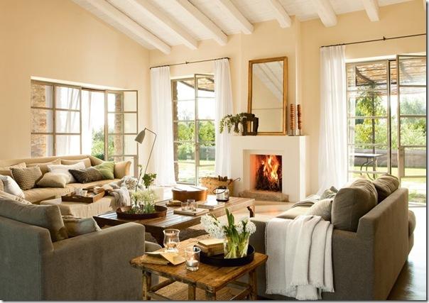 In campagna vecchia anima cuore nuovo case e interni for Arredamento interni case
