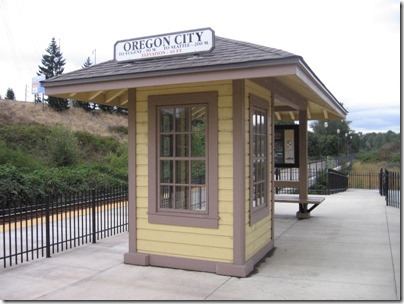 IMG_9080 Oregon City Amtrak Station on September 17, 2007