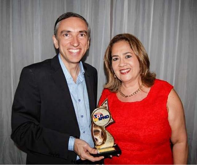 Top of Mind 2015: Miranda destaca recebimento do prêmio na categoria Loja de Informática