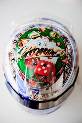 шлем Себастьяна Буэми специально для Гран-при Монако 2011