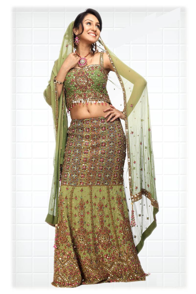 designer indian bridal gown