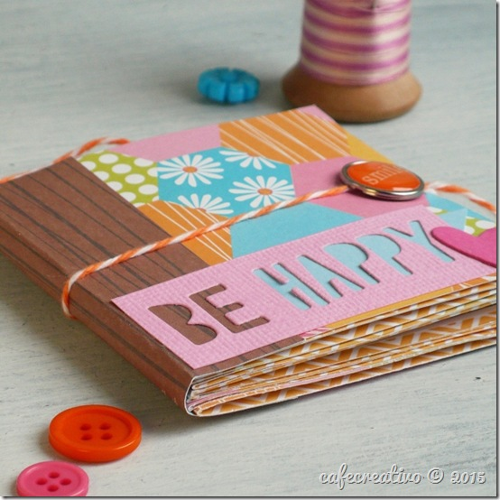 come fare un Mini Album con un foglio Scrap