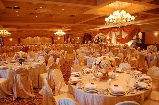 Villa Penna wedding reception