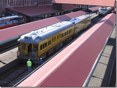 IMG_6108 Union Pacific Business Cars at Union Station in Portland, Oregon on May 9, 2009