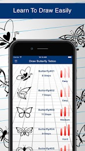 Download How to Draw Butterfly Tattoos APK on PC