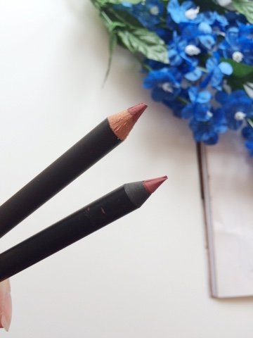 MAC Soar, MAC Soar alternative, MAC Soar dupe, GOSH Antique Rose lip pencil, beauty blogger, Scottish blogger