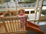 LePort Private School Huntington Beach - Montessori infant climbing stairs
