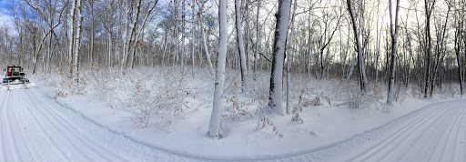 Panoramic view on Rootin Tootin. Awesome winter scenes in the woods right now