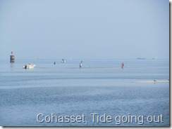 020 Cohasset, Tide going out