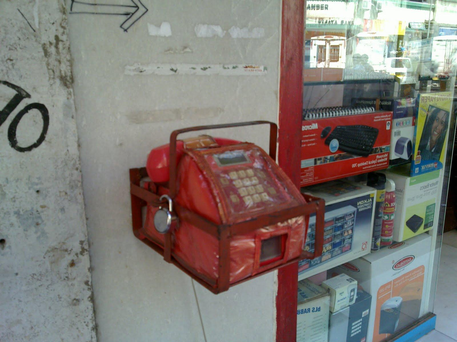 Indian telephone booth