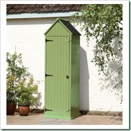 beach hut green