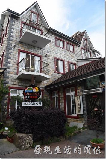 南投清境-魯媽媽餐廳座落在標高在2044公尺的位置。