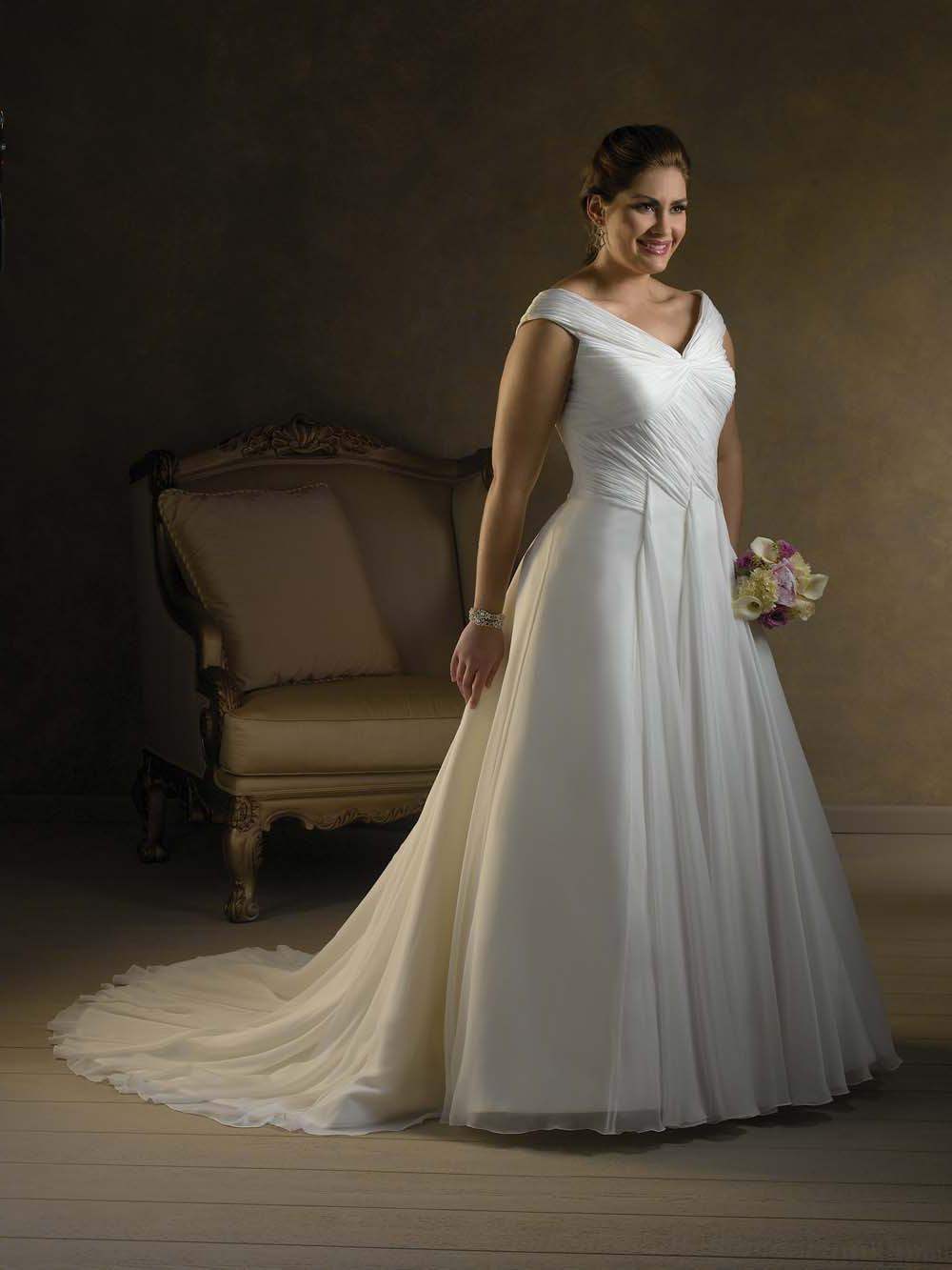 bridal dresses big size