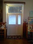 Az Erdélyi Gyülekezet segítségével elkészült egyik ajtó