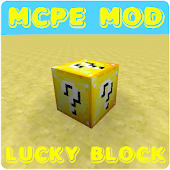 Lucky Block Mod For McPE APK for Bluestacks