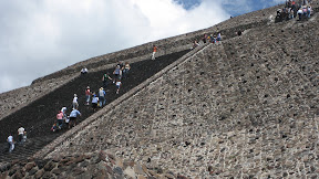 This is the Pyramid of the Sun