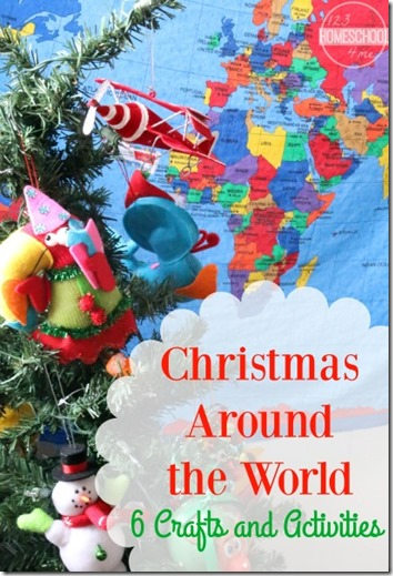 christmas around the world 6 christmas crafts and activities