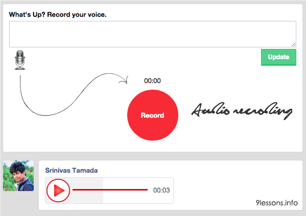 Audio Recording with Custom Audio Player using Jquery and HTML5