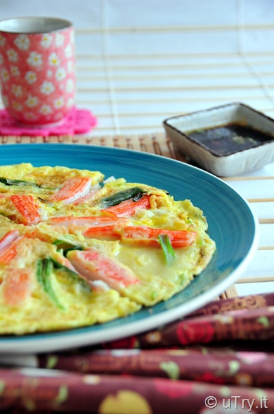 Check out how to make these Korean Pancake 한국어 팬케이크 (Pajeon) with video tutorial.   http://uTry.it